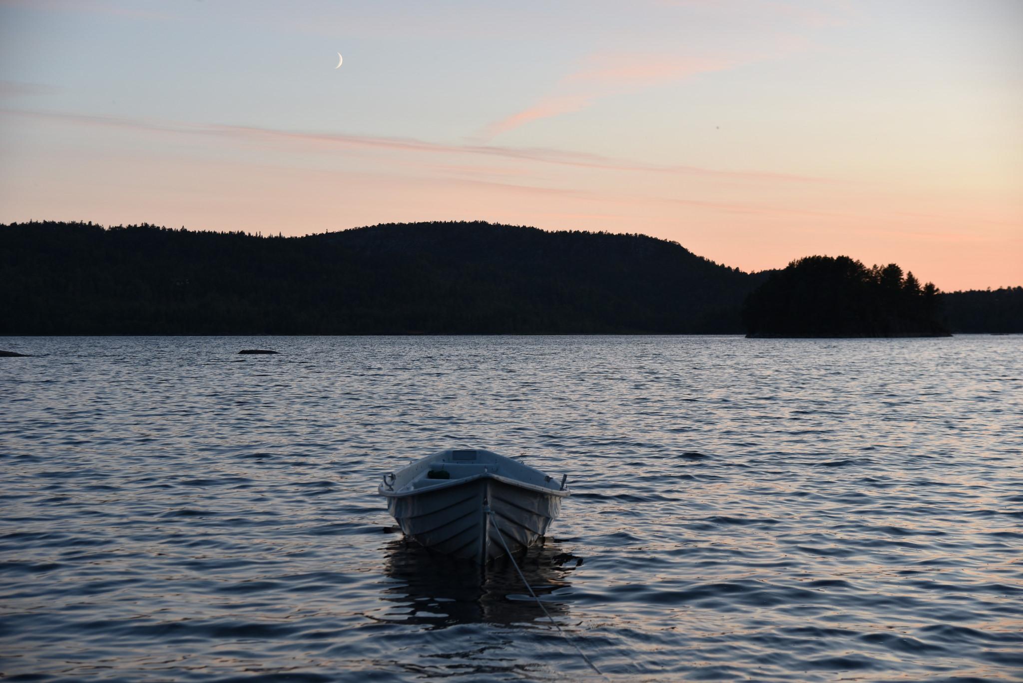Som eneste hyttefelt på Gautestad tilbyr vi våre tomte-kjøpere mulighet til å leie båtplass.