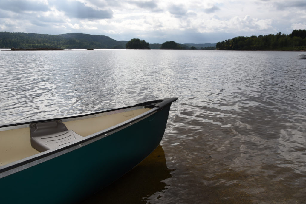 Bygger du hytte på Lauvaas hyttefelt har du muligheter for å ha båt på hytta.