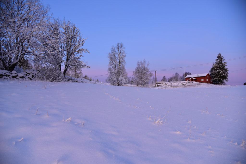 Lauvaas gård pa Gautestad, Evje.