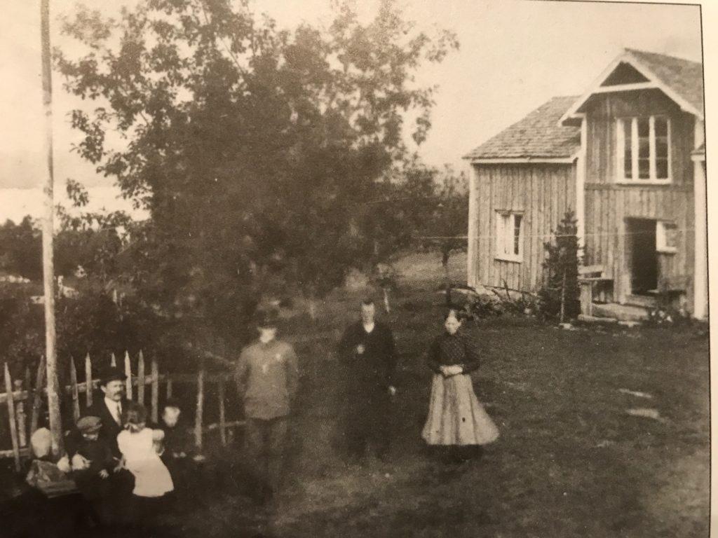 Gården Lauvås i gamledager